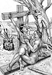 Roman crucifixions - we gonna squeeze your milk and all the life out of your body drop by drop by Marcus