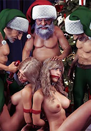 Hawke fansadox 556 Evil elves - Hawke's gorgeous bevy of beauties are forced to endure some truly humiliating