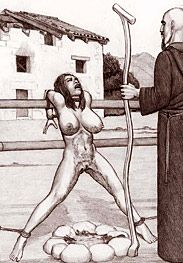 Inquisition law - she will lose her virginity to the inquisitor himself by Badia